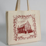 Promotioanal Canvas Tote Bag mit Water Color Printing