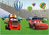 Lasering車の熱気の気球デザイン表紙
