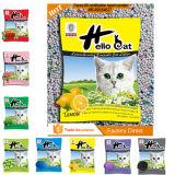 الحيوانات الأليفة المنتج خط انتاج فضلات القطط المنتج