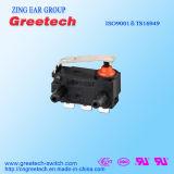 Zingear selou o mini micro interruptor impermeável preto com RoHS e UL