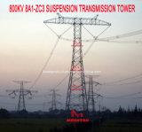 Torretta della trasmissione della sospensione di Megatro 800kv 8A1-Zc3