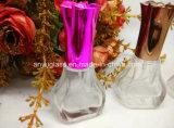 新式のデザインカスタム帽子が付いているガラス香水瓶