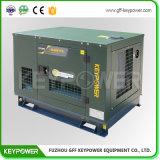 더 적은 전기 힘이 있는 장소를 위한 소형 크기 침묵하는 디젤 엔진 발전기 7kw