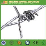 Колючая проволока провода упорной корозии горячая окунутая гальванизированная для ограждать