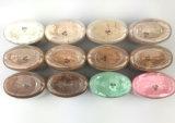 Poudre desserrée de Ben Nye Poudre De Luxe Banana pour la poudre cosmétique colorée du renivellement 1.5 Oz/PCS