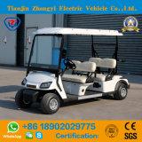 Carro de golf eléctrico del hotel de 4 pasajeros