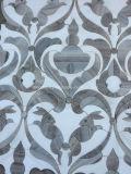 Белые и серые мраморный искусствоа мозаики кролика