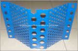 Soffitto personalizzato dello schermo del vento e della polvere dell'acciaio inossidabile/schermo