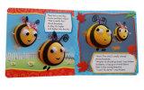 Livre de sensation de contact de carton pour des enfants