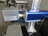 Машина маркировки лазера металла Ak10f & Non волокна металла с роторным