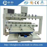 マルチスピンドル回転式接続機構が付いている木製CNCのルーター機械