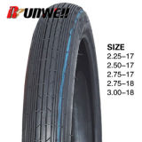 Neumático delantero 2.50-18 2.75-17 de la motocicleta