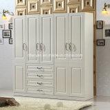 غرفة نوم أثاث لازم ميلامين لوح خزانة ثوب خزانة
