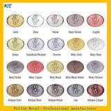 Harter Decklack, der mit kundenspezifischer Firmenzeichen-Silber-Überzug-Medaille füllt