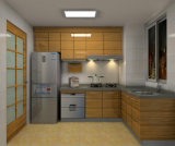 High UV Glossy Modern Kitchen Cabinet per Hotel Project (Br-U017)