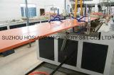 Производственная линия напольного пола WPC прессуя
