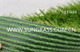 Het Pu Met een laag bedekte Kunstmatige Gras van het Landschap (sunq-HY00152)