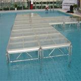 Étape amovible en aluminium d'acrylique de bâti en métal de piscine de concert de mariage indien d'intérieur mobile extérieur d'événement