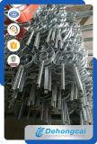 Barandilla/balaustre/pasamanos labrados galvanizados calientes de la escalera de la seguridad durable