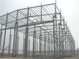 Niedrige Kosten-Vor-Ausgeführte helle Stahlkonstruktion-Werkstatt (KXD-SSW138)
