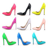2016 nuovo Design Fashion 11cm High Heeled Women Dress Shoes (A 95)