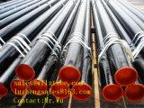 """6 """" 계획 40 ASTM A53 A106 급료 B 까만 탄소 이음새가 없는 강관"""