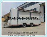 Nuovo rimorchio mobile standard caldo del rimorchio degli alimenti a rapida preparazione della via di vendita/del rimorchio camion dell'alimento/alimento dell'Australia