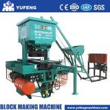 固体ブロックの煉瓦作成機械粘土の煉瓦機械値を付けるためか移動式ブロック機械