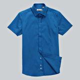 Camisa 2016 de alineada del algodón de los varios hombres de los colores el 100% del modelo nuevo