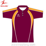 Healong Polyester-Sublimation-Polo-Polo-Hemd 100%