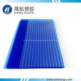 100% Fresh Material Hoja de luz solar policarbonato hueco para techos
