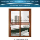 Portello scorrevole d'attaccatura dell'alluminio per il balcone ed il patio