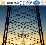 tour 220kv en acier pour le transport d'énergie