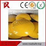 Vite prigioniera di ceramica rotonda di plastica della strada dell'ABS bianco o giallo di Roadsafe