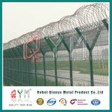 Rete fissa dell'aeroporto di alta obbligazione/rete fissa saldata aeroporto della rete metallica/rete fissa filo del rasoio