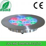 36W RGB LED de luz bajo el agua piscina asimétrica con la lente (JP948124-AS)