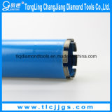 Diamante Tool Granite Drill Bit con Various Sizes Threads