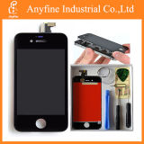 OEM do LCD Touch Screen Digitizer Glass Assembly da recolocação para o iPhone 4S Black