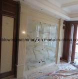 Linea di produzione di marmo artificiale del PVC, macchina di marmo del comitato di Aritificial, riga di plastica di pietra di marmo dell'espulsione dello strato