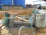 Vis Déshydratation des boues Machine pour boissons des eaux usées de