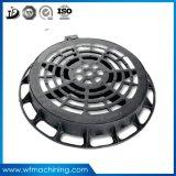 OEM 맨홀 둥근 배수장치 덮개를 위한 맨홀 뚜껑 둥근 연성이 있는 철 맨홀 뚜껑 연성이 있는 주조 맨홀 뚜껑