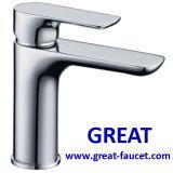 Robinet de lavabo de lavabo de salle de bains de design contemporain (GL7601A76)