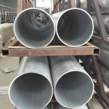 круглая алюминиевая труба 6005A-H112 с размером 573mm*10.3mm