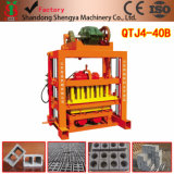 ベストセラーの製品手の出版物のセメントのコンクリートブロック機械Qtj4-40