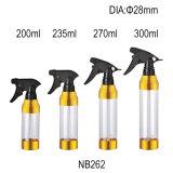 bouteille de l'animal familier 200ml avec le mini pulvérisateur de déclenchement (NB262)