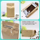 Sacchetto di caffè con l'imballaggio del sacchetto/caffè della serratura chiusura lampo/della valvola