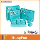 Coated упаковывая бумажное изготовление хозяйственной сумки