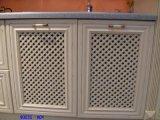 Portes américaines de Cabinet de cuisine en bois plein de chêne rouge
