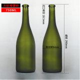упаковывать пива стеклянного контейнера 500ml 750ml стеклянный/бутылка вина стеклянная