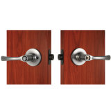 Alto Security Zinc Alloy Door Lever Set Lock in Satin Nickel Finishing